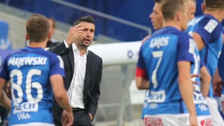 Ekstraklasa: Lech pod wodzą Pomsa znów liczy na wygraną