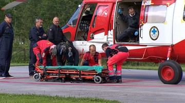 Wakacje w Tatrach. Więcej wypadków z udziałem turystów, ale bez ofiar śmiertelnych