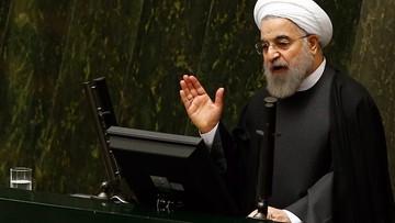 17-01-2016 12:15 Zadowolony prezydent Iranu mówi o pokoju. Stany i Europa zdjęły sankcje
