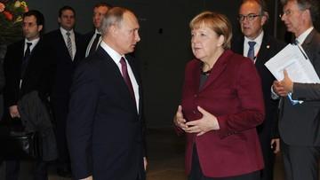 Merkel: Rosja ponosi odpowiedzialność za wydarzenia w Syrii