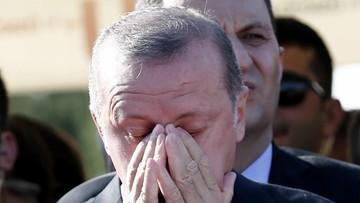 17-07-2016 19:24 Erdogan: niezwłocznie przywrócić karę śmierci