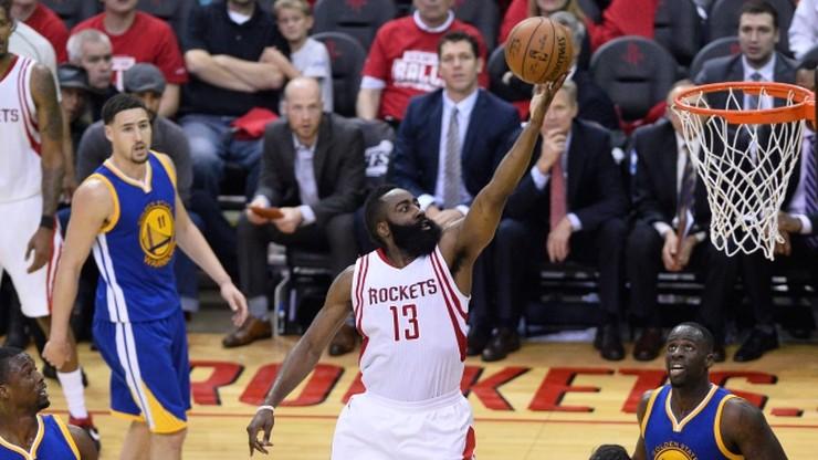 Rockets pokonali Warriors pod nieobecność Curry'ego