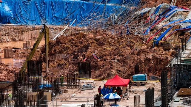 Malezja: dwóch zabitych, 18 zaginionych po osunięciu ziemi