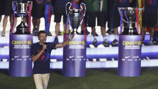 Trener Luis Enrique przedłużył kontrakt z Barceloną