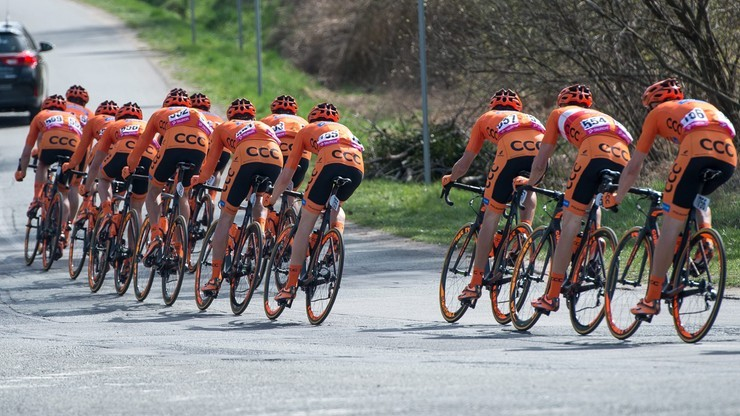Sześciu sprinterów CCC Sprandi Polkowice na Garmin Velothon Berlin