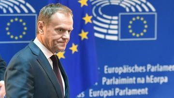 13-04-2016 13:08 Tusk: trudno się dziwić, że działania polskich władz budzą niepokój