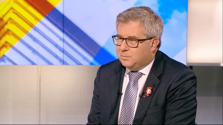 """Jak spór o TK wpłynie na relacje Polski z UE - Ryszard Czarnecki w programie """"Wydarzenia 22:00"""""""