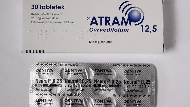 Dystrybutor wycofuje z Polski trzy serie leku Atram