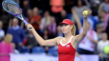2015-11-13 Fed Cup. Maria Szarapowa: Czeszki faworytkami finału