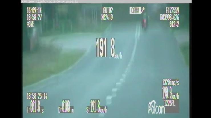 Przez wioskę prawie 200 km/h. Policja zabrała mu motor