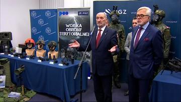 """09-02-2017 17:58 """"Nowoczesny, a nawet supernowoczesny"""". Szef MON o sprzęcie dla Wojsk Obrony Terytorialnej"""