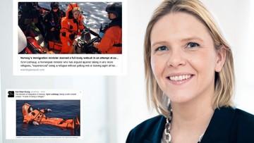 22-04-2016 09:28 Norweska minister chciała poczuć, jak to jest być uchodźcą. Zalała ją fala krytyki