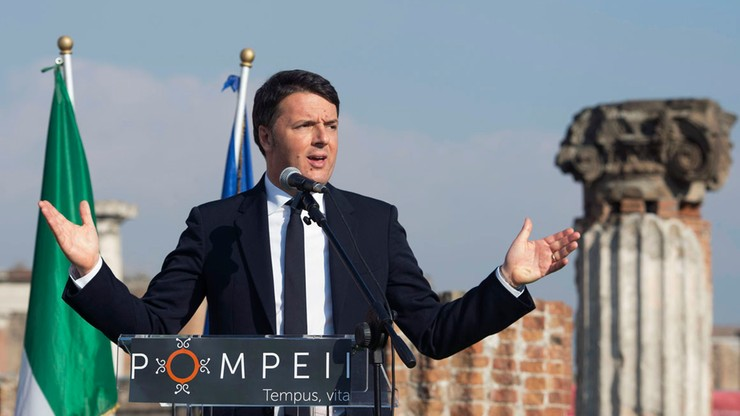 Premier Włoch: skończyły się czasy sterowania z Brukseli