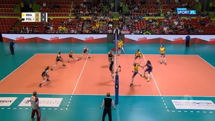 Polska - Brazylia 1:3. Skrót meczu