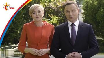 06-06-2016 13:53 W trzech językach. Prezydent i pierwsza dama zapraszają na Światowe Dni Młodzieży