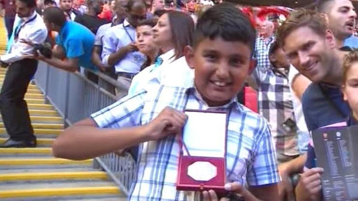 Fan Arsenalu dostał medal od… Mourinho