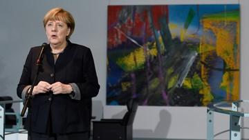 14-11-2016 16:59 Merkel poparła kandydaturę Steinmeiera na prezydenta Niemiec