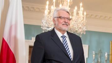 24-04-2017 20:52 Waszczykowski: nie ma planu mojego odejścia z rządu ani objęcia ambasady przy ONZ