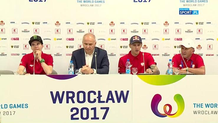Konferencja reprezentacji Polski w jeździe na żużlu