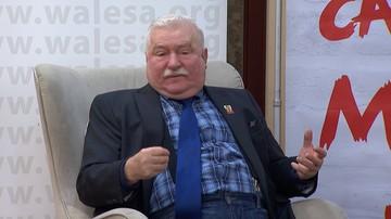 """19-01-2017 23:13 """"Nas było dziesięć milionów, a ich jest pięćset tysięcy"""" - Lech Wałęsa"""