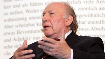 31-03-2016 10:54 Zmarł Imre Kertesz. Węgierski laureat literackiej Nagrody Nobla