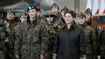 08-03-2016 17:47 Kobiety w armii od 8 marca mają swoją pełnomocnik