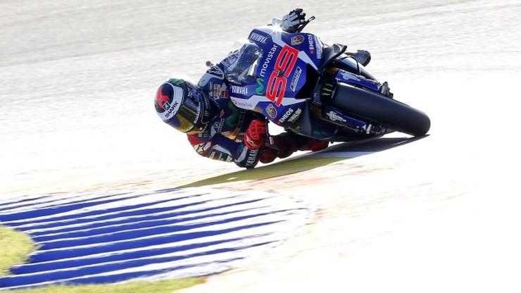 MotoGP: Lorenzo na pole position w Walencji