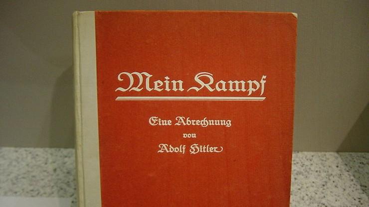 """Włochy: protesty i oburzenie bezpłatnym rozdawaniem """"Mein Kampf"""" przez gazetę"""