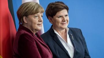 """13-02-2016 06:50 """"Polityczny faul"""". Niemiecka prasa komentuje wizytę premier Szydło w Berlinie"""