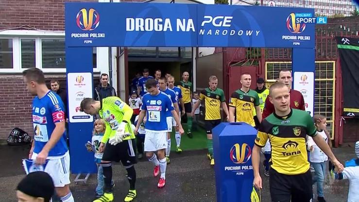 GKS Jastrzębie - Wigry Suwałki 1:2. Skrót meczu