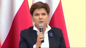 14-12-2015 15:07 Szydło o słowach Schulza: oczekuję, że szef PE przeprosi Polskę