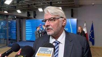 06-03-2017 10:10 Waszczykowski: Saryusz-Wolski to jedyny polski kandydat na szefa RE. Kaczyński: Tusk to kandydat niemiecki