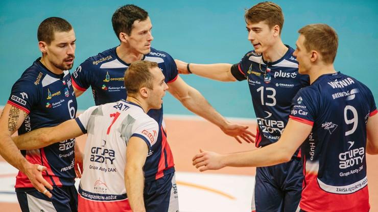 Puchar Polski: ZAKSA - Jastrzębski Węgiel. Transmisja w Polsacie Sport