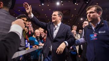 06-03-2016 08:08 Prawybory w USA: Ted Cruz zmniejsza stratę do Donalda Trumpa