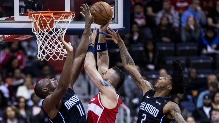 NBA: Gortat i spółka pokonali Magic. Double-double Polaka w starciu z byłą ekipą