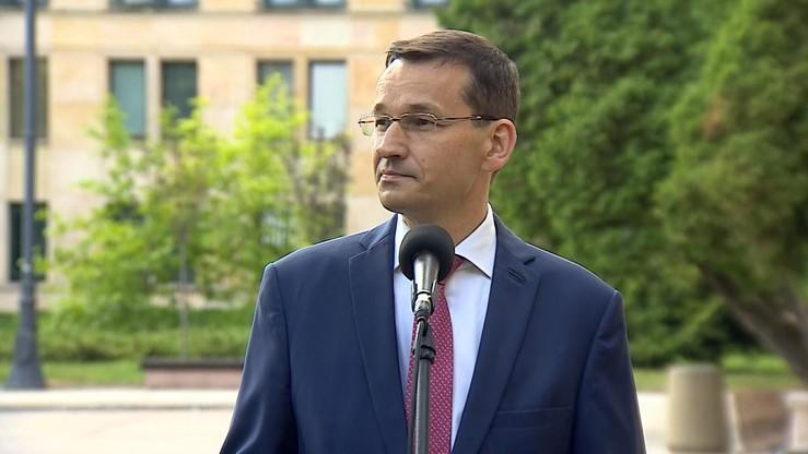 Morawiecki: jestem zdumiony ultimatum KE