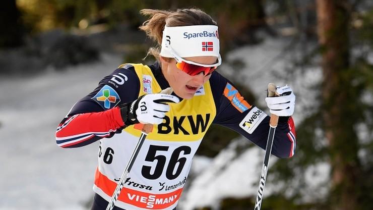 Tour de Ski: Oestberg wygrała bieg na 10 km techniką klasyczną