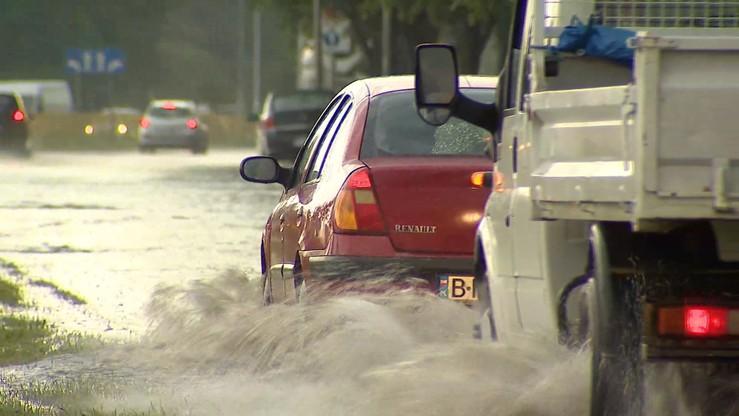 W czasie wtorkowych burz w Białymstoku spadło 2/3 miesięcznej normy deszczu