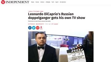 21-02-2016 18:46 Rosyjska wersja DiCaprio. Sobowtór aktora dostał swój program w telewizji