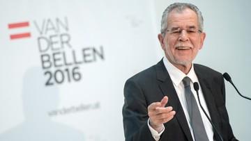 """04-12-2016 21:45 """"Można wygrać wybory z proeuropejskim przesłaniem"""". Van der Bellen wygrywa Austrii"""