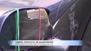 Zabrze: zniszczyli 58 samochodów, mogą pójść do więzienia na 5 lat