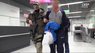 Ciało Polaka w walizce porzuconej w Amsterdamie. Podejrzany sprowadzony do kraju