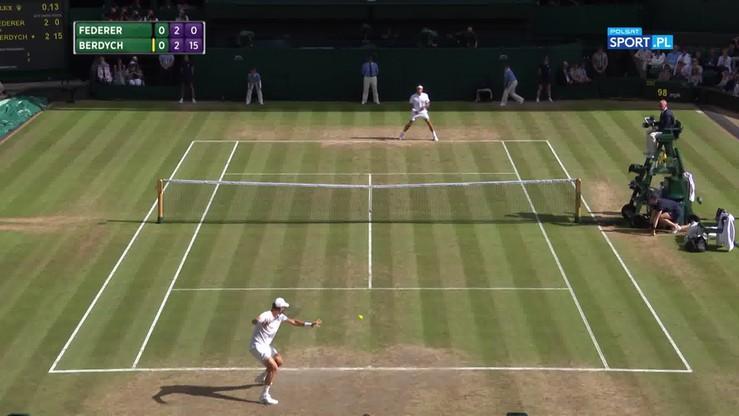 Federer - Berdych 3:0. Skrót meczu