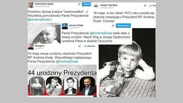 Twitter świętuje urodziny prezydenta