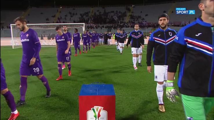 Fiorentina - Sampdoria 3:2. Skrót meczu