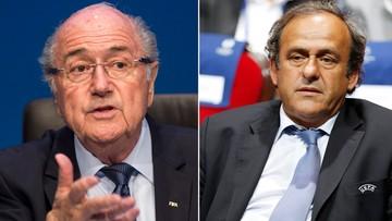 21-12-2015 10:09 Koniec marzeń o przewodzeniu FIFA. Platini i Blatter zawieszeni na 8 lat