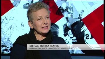 Monika Płatek - prezydent skazał Kamińskiego