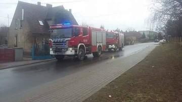 2017-02-23 Akcja strażaków w Starym Bojanowie (woj. wielkopolskie)