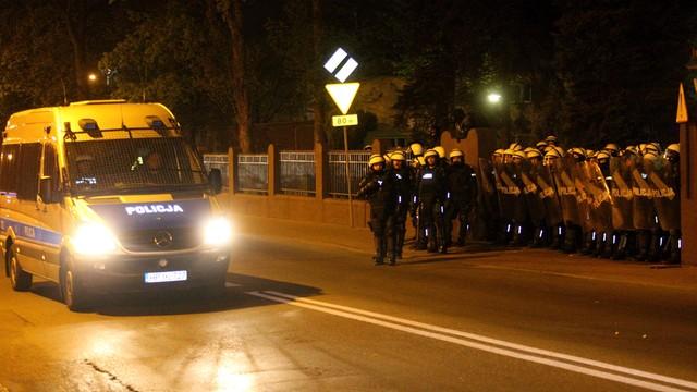 Areszt, dozory policyjne i poręczenia majątkowe po zajściach w Knurowie