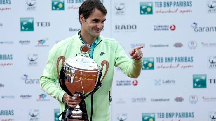 Federer z 85. tytułem